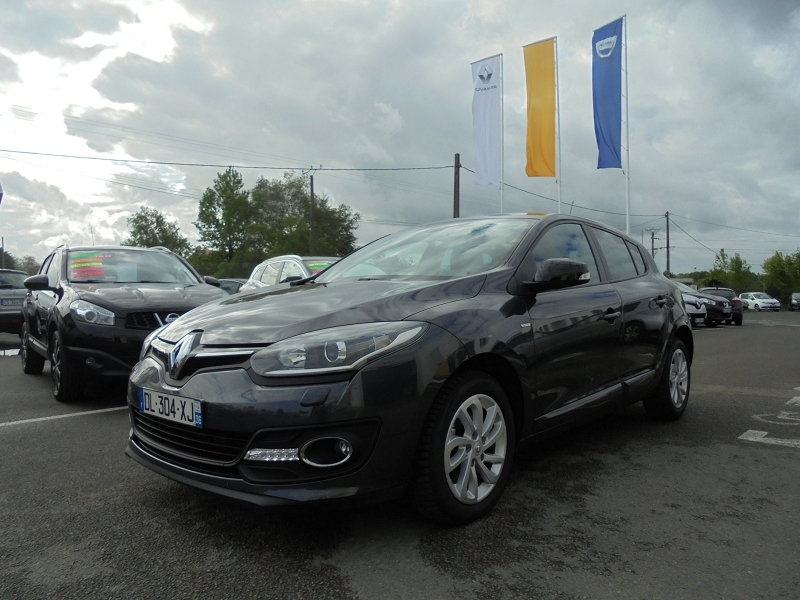 Photo 8 de l'offre de RENAULT MEGANE III 1.2 TCE 115CH ENERGY LIMITED ECO² à 9990€ chez Garage Charrier