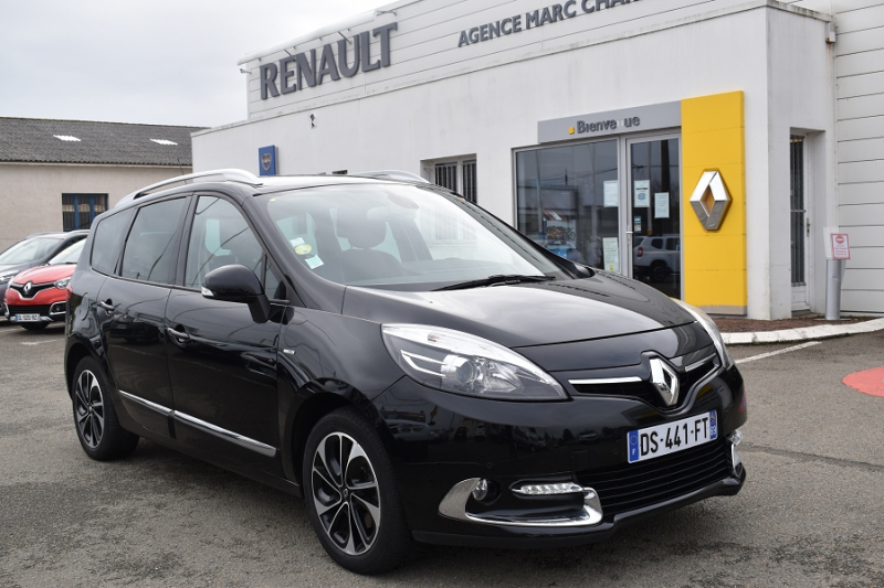 Photo 1 de l'offre de RENAULT GRAND SCENIC III 1.6 DCI 130CH ENERGY BOSE ECO² 7 PLACES 2015 à 12990€ chez Garage Charrier