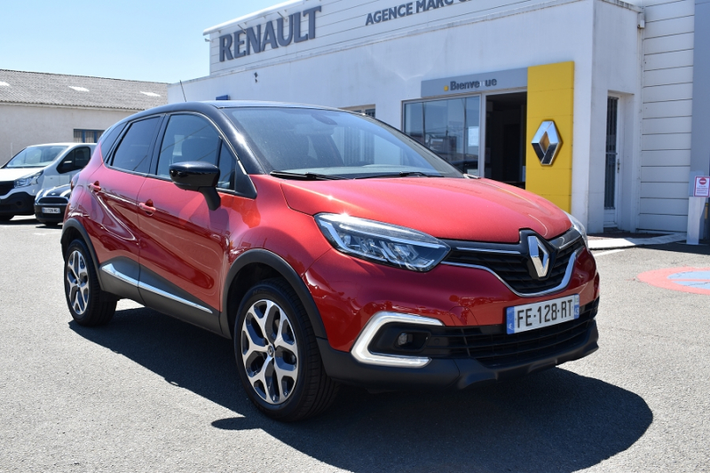 Renault CAPTUR 1.2 TCE 120CH ENERGY INTENS Essence ROUGE / NOIR Occasion à vendre